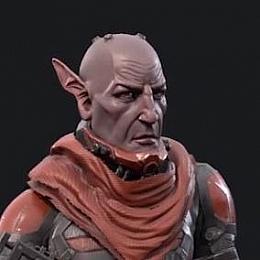 C4素材库-外星科幻人物角色C4D模型
