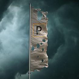 C4素材网-旗帜动画C4D工程预设文件