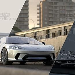 Octane渲染器汽车跑车轿车模型带材质