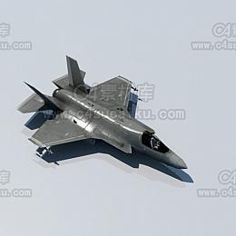 Octane渲染器飞机战斗机模型