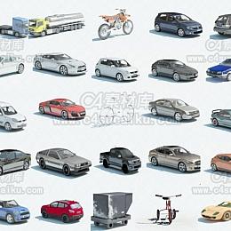汽车轿车摩托车跑车模型合集