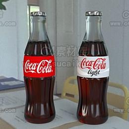 可乐瓶子模型