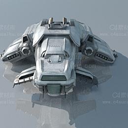 飞机战斗机宇宙飞船科幻航天器模型2