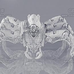 科幻机械蜘蛛