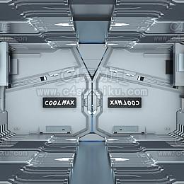 octane精品科幻实验室工程场景文件