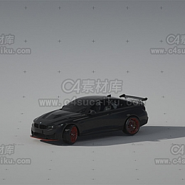 宝马跑车汽车模型