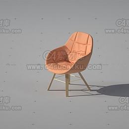 椅子凳子模型-1