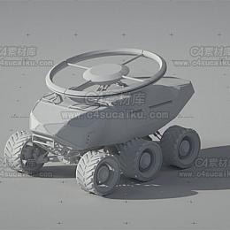 火星探测车模型