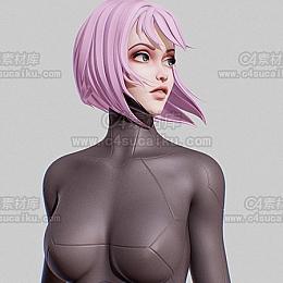 C4素材库-卡通女性角色-1