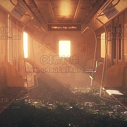 【二更小分队】地铁内部创意场景by玛嘉烈