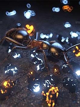 C4素材库-蚂蚁工程文件