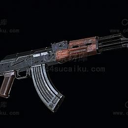 C4素材库-AK47模型