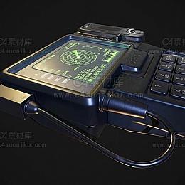 C4素材库-手持显示器
