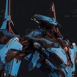 C4素材库-机甲模型
