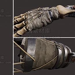 C4素材库-机械手C4D模型03