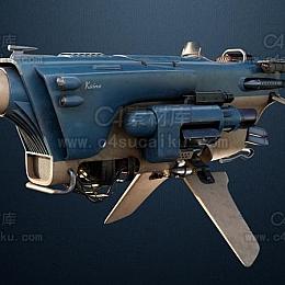 C4素材库-飞船C4D模型03
