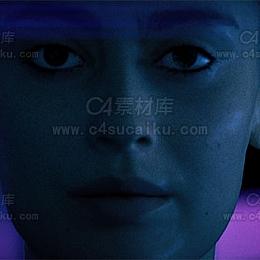 C4素材库-创世纪C4D人物工程byM-麦秸