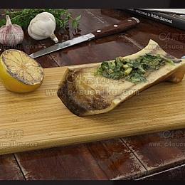 C4素材库-食物C4D模型05