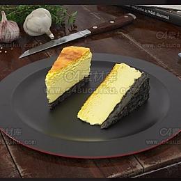 C4素材库-食物C4D模型13