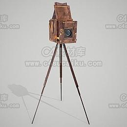 C4素材库-相机C4D模型