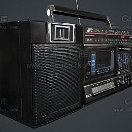 C4素材网-音响C4D模型