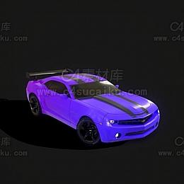 C4素材网-雪福来汽车C4D模型