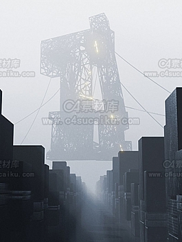 C4素材网-电缆C4D动画临摹byJD
