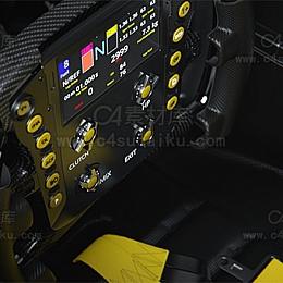 C4素材网-F1赛车方向盘【附带AE合成文件】