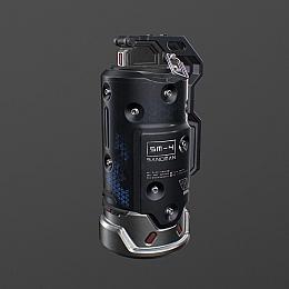 C4素材网-闪光弹手雷