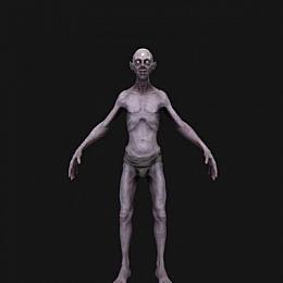 C4素材网-僵尸人物模型