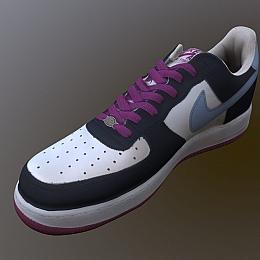 C4素材网-耐克鞋子