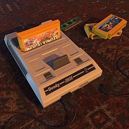 C4素材网-小霸王游戏机