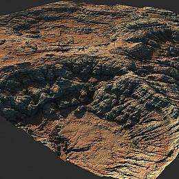 C4素材网-地形模型