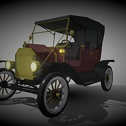 C4素材网-老式汽车