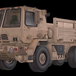 C4素材网-汽车卡车货车模型
