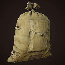 C4素材网-布袋麻袋模型