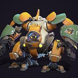 C4素材网-科幻机器人