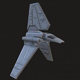 C4素材网-科幻飞船航天器飞行器模型
