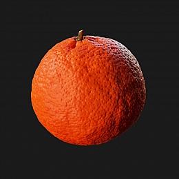 C4素材网-橘子模型