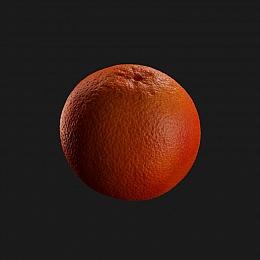 C4素材网-橙子橘子模型