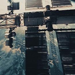 C4素材网-太空站国际空间站模型-带动画【超高精度】