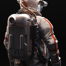 C4素材网-Blender工程-宇航员模型【包含FBX/贴图】