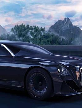 C4素材网-C4D工程-行驶汽车