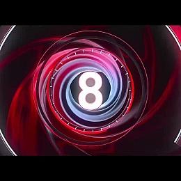 C4素材网-C4D工程-倒计时数字8