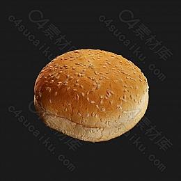 C4素材网-面包模型