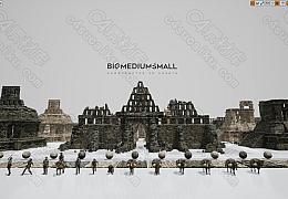 C4素材网-失落之城的古遗址寺庙和废墟模型