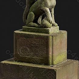 C4素材网-雕塑雕像模型