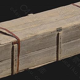 C4素材网-木箱模型