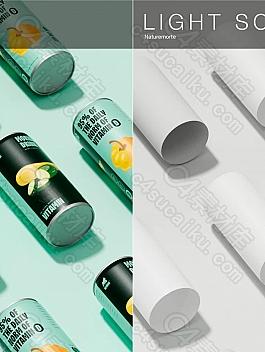 C4素材网-C4D工程-6组工作室写实场景背景工程
