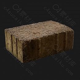 C4素材网-砖块模型